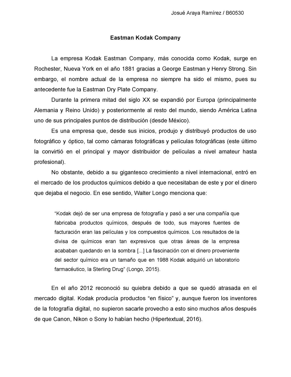 Kodak Gf0108 Geografia Del Norte Y Suramerica Gf0103 Studocu