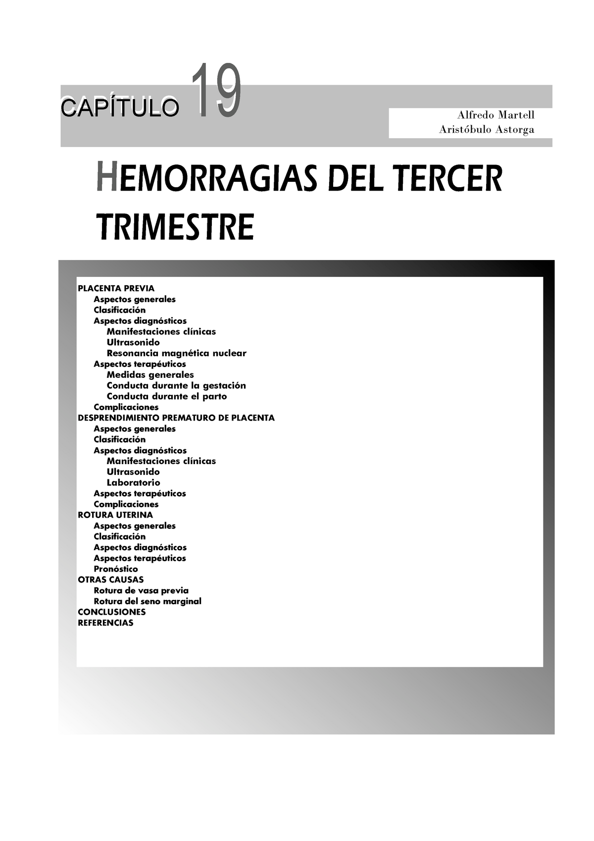 tipos de hemorragias linear unit el briefing trimestre del embarazo
