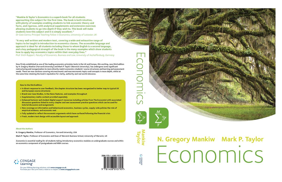 Gregory Mankiw Economics - MIS111: Business Economics - StuDocu