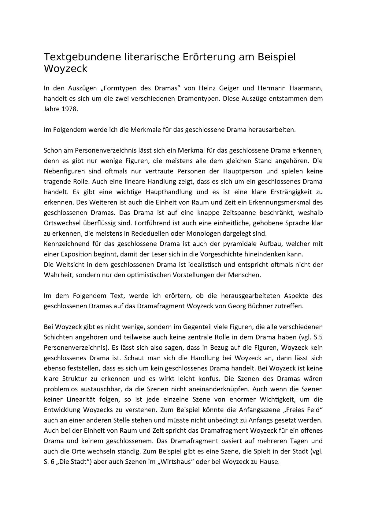 Textgebundene Erorterung Das Ende Der Untouchables 9