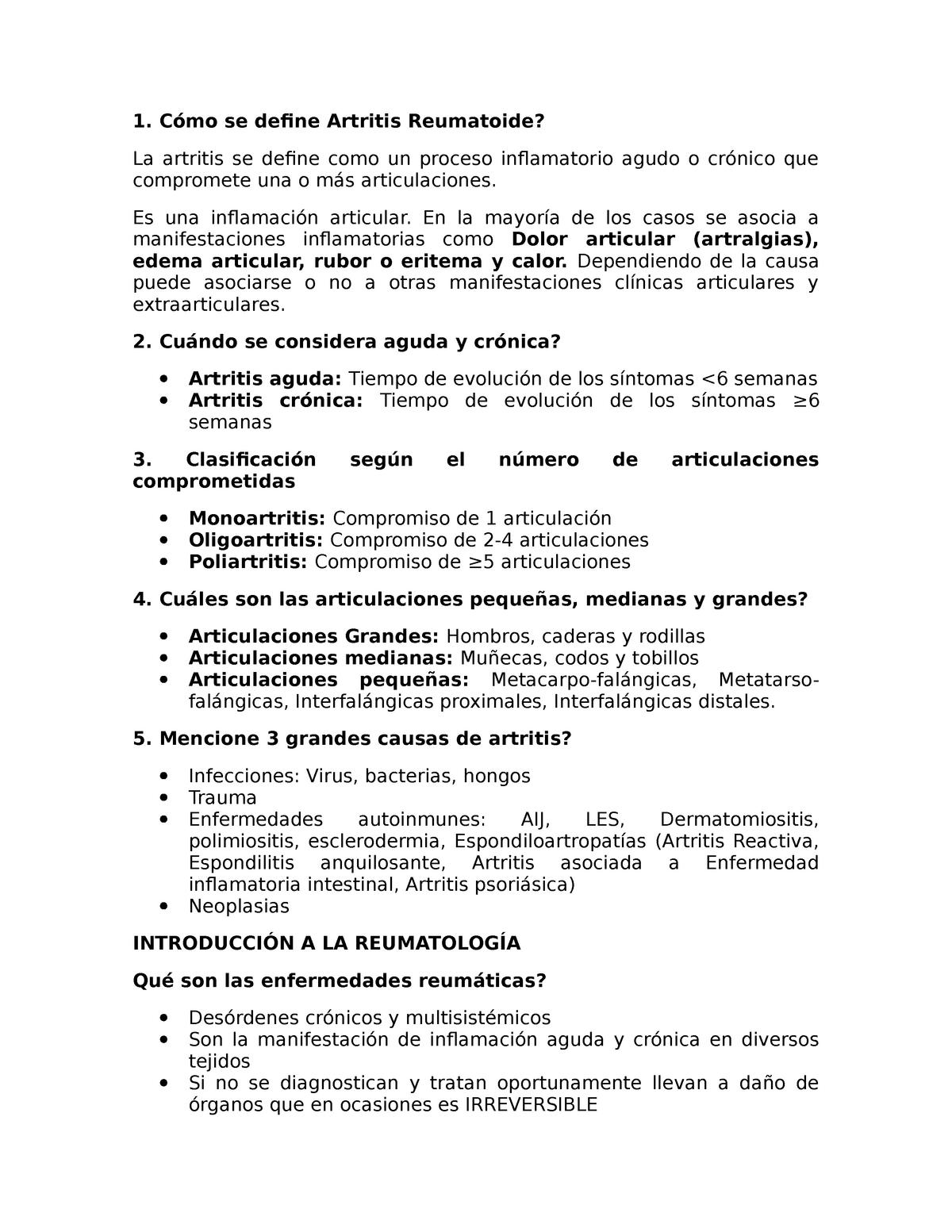 artritis reumatoide y enfermedad inflamatoria intestinal