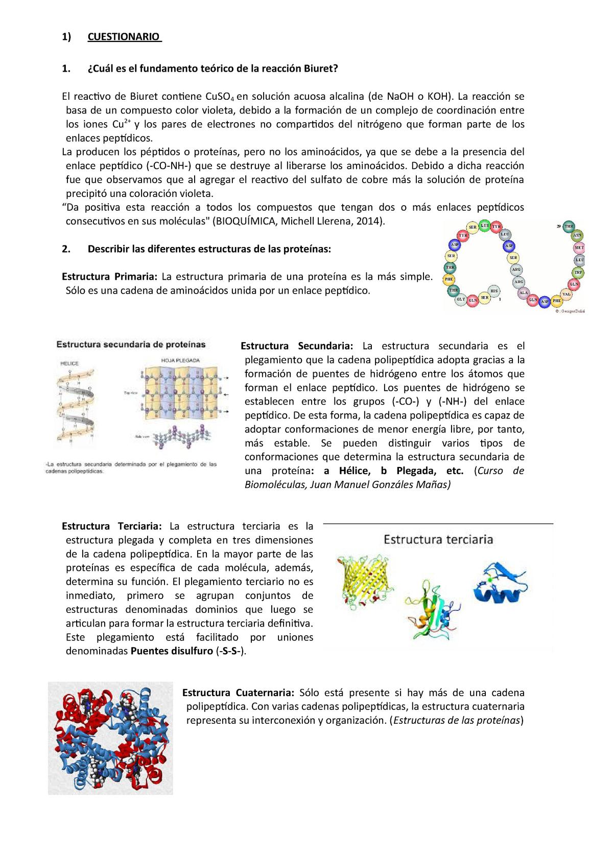 Cuestionario 2 Nota 9 Biología Celular Cc2023 Unalm