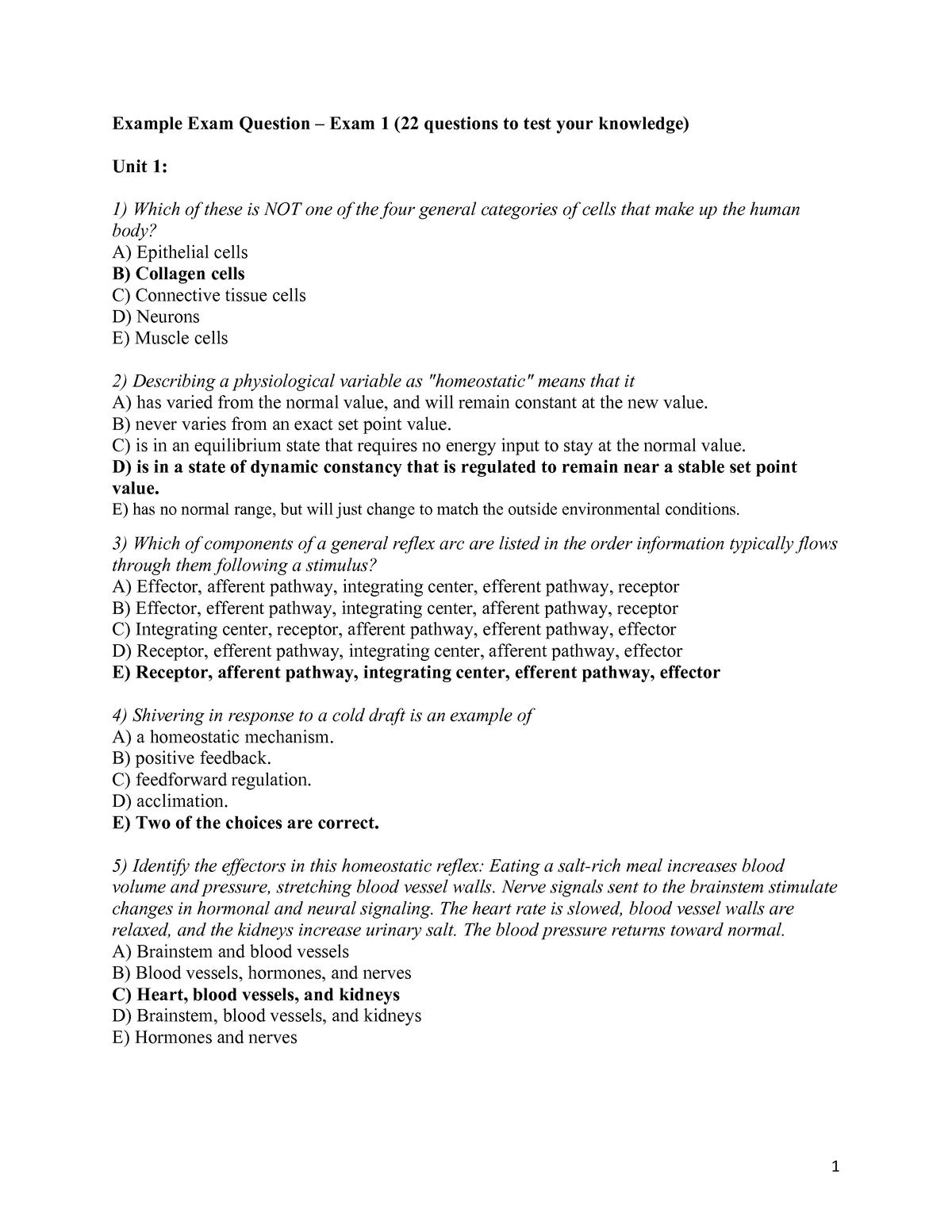 Exam Exam 1 February 1 2019, questions and answers - StuDocu