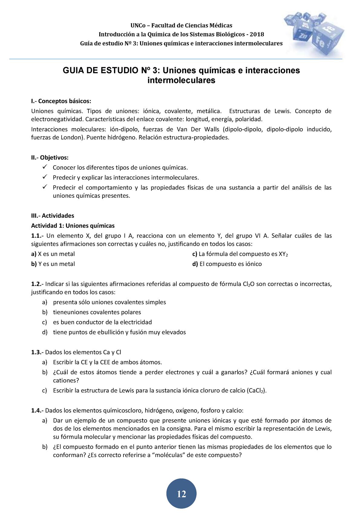 2018 Guia De Estudio Nº 3 Uncoma Studocu