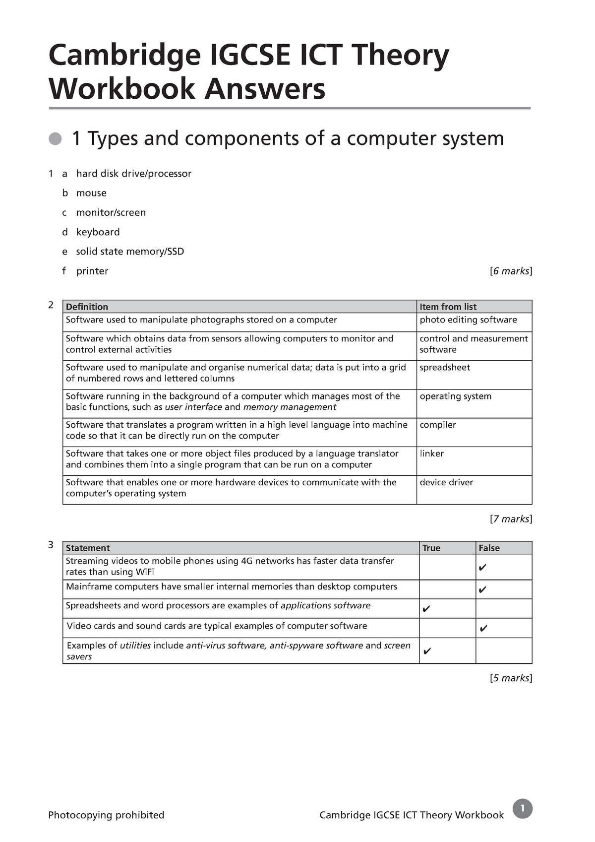 890369 Answer Igcse ICT Theory WB - CDES 389 - CSU Chico