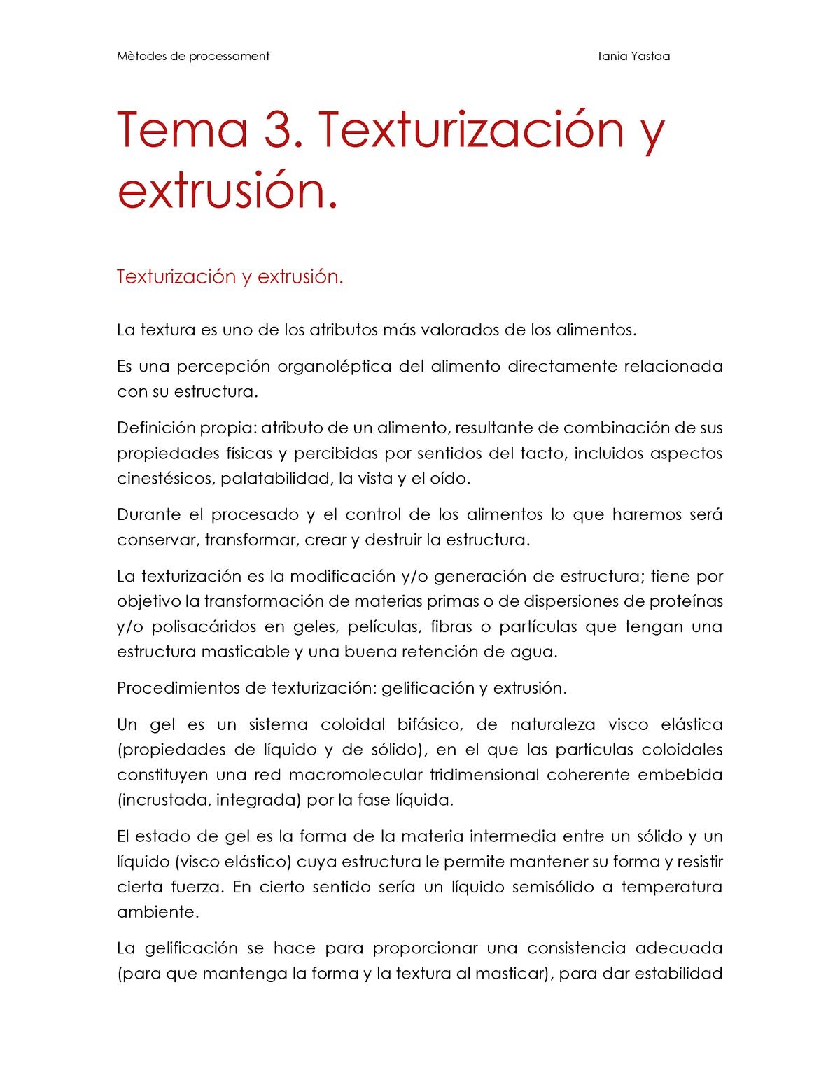 BLOC 1  Tema 3  Texturización y extrusión - Mètodes de