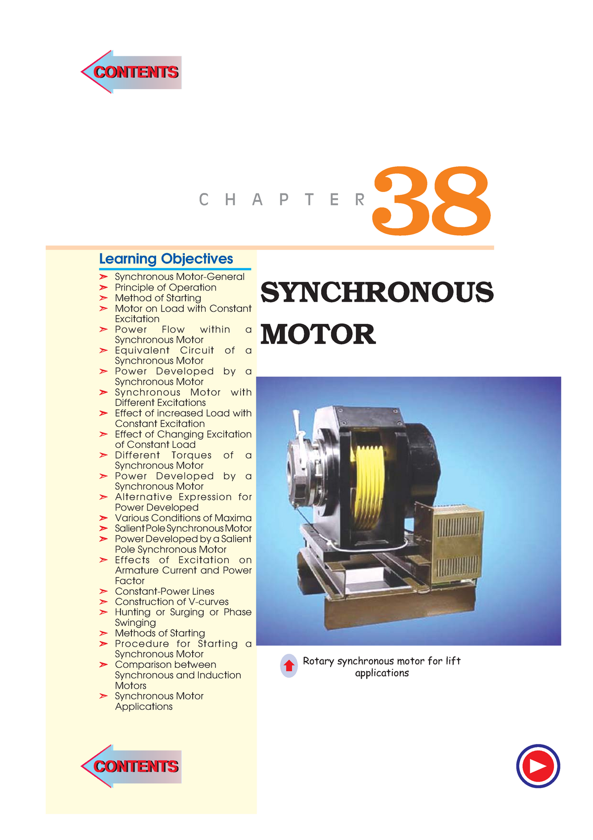 Ch-38 Synchronous Motors - 302915 - Curtin - StuDocu
