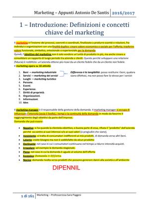 Riassunto Marketing in Italia 18 Feb 2019 - StuDocu 1aeb09c2f41