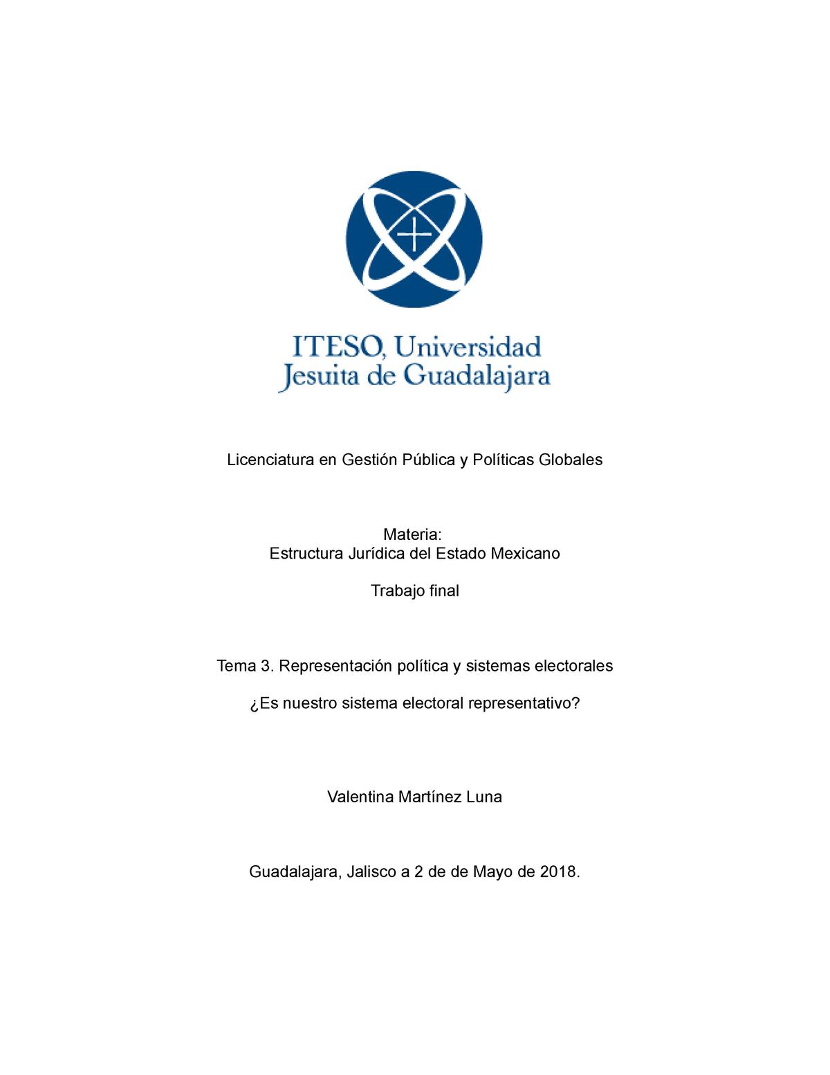 Estructura Juridica Resolución De Conflictos Iteso Studocu