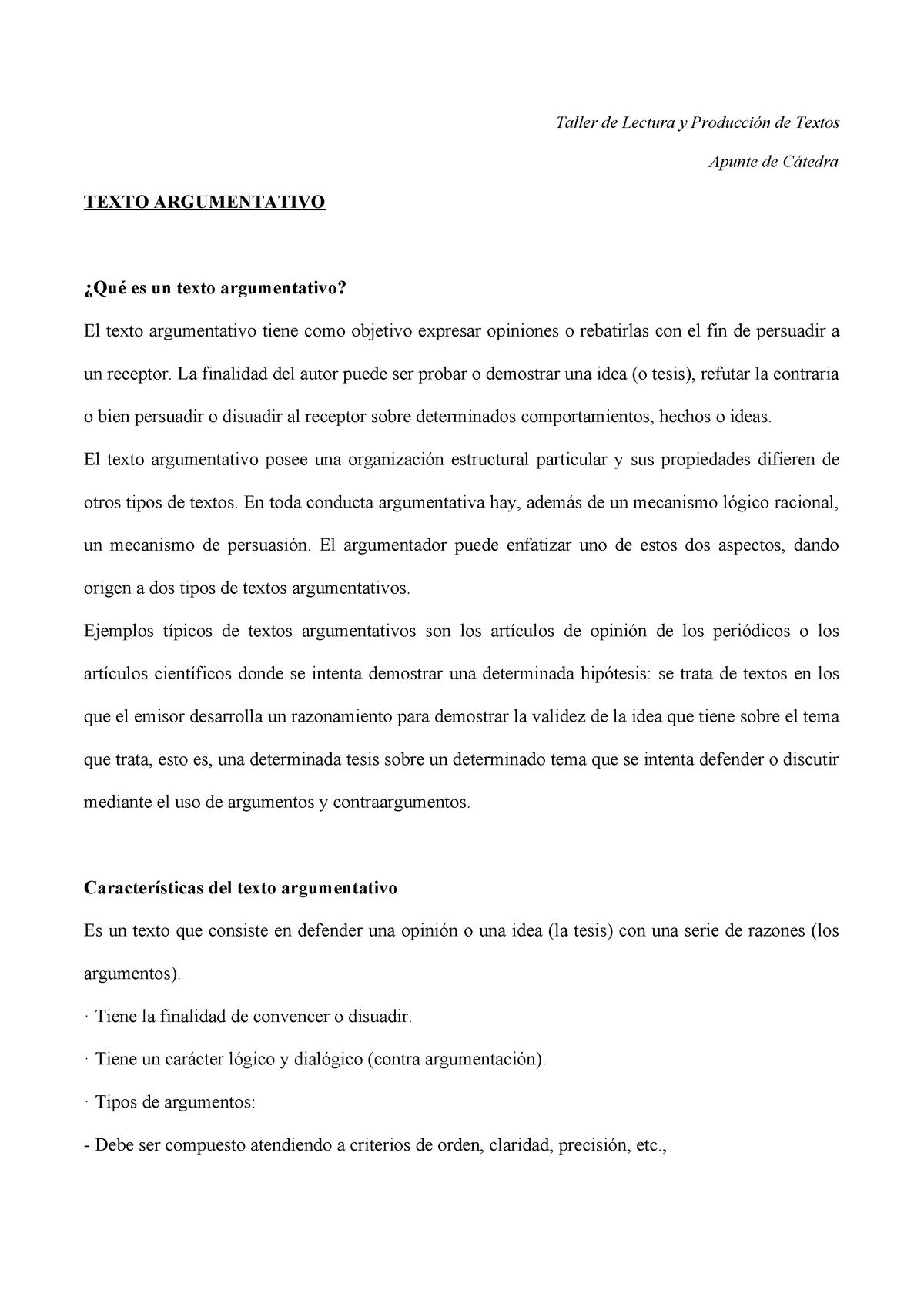 Texto Argumentativo Ciencias Sociales 345678 Unpsjb