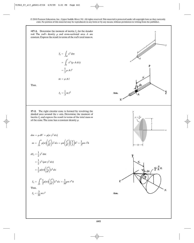 Solution Manual Dynamics Hibbeler - chapter 17 - CTB1210