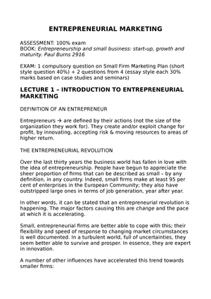 entrepreneurial marketing the critical difference essay Studies conducted by these researchers concluded that there was a significant association of entrepreneurial self-efficacy with the likelihood of becoming an entrepreneur or entrepreneurial intention entrepreneurship researchers proposed the construct of entrepreneurial self-efficacy (ese.