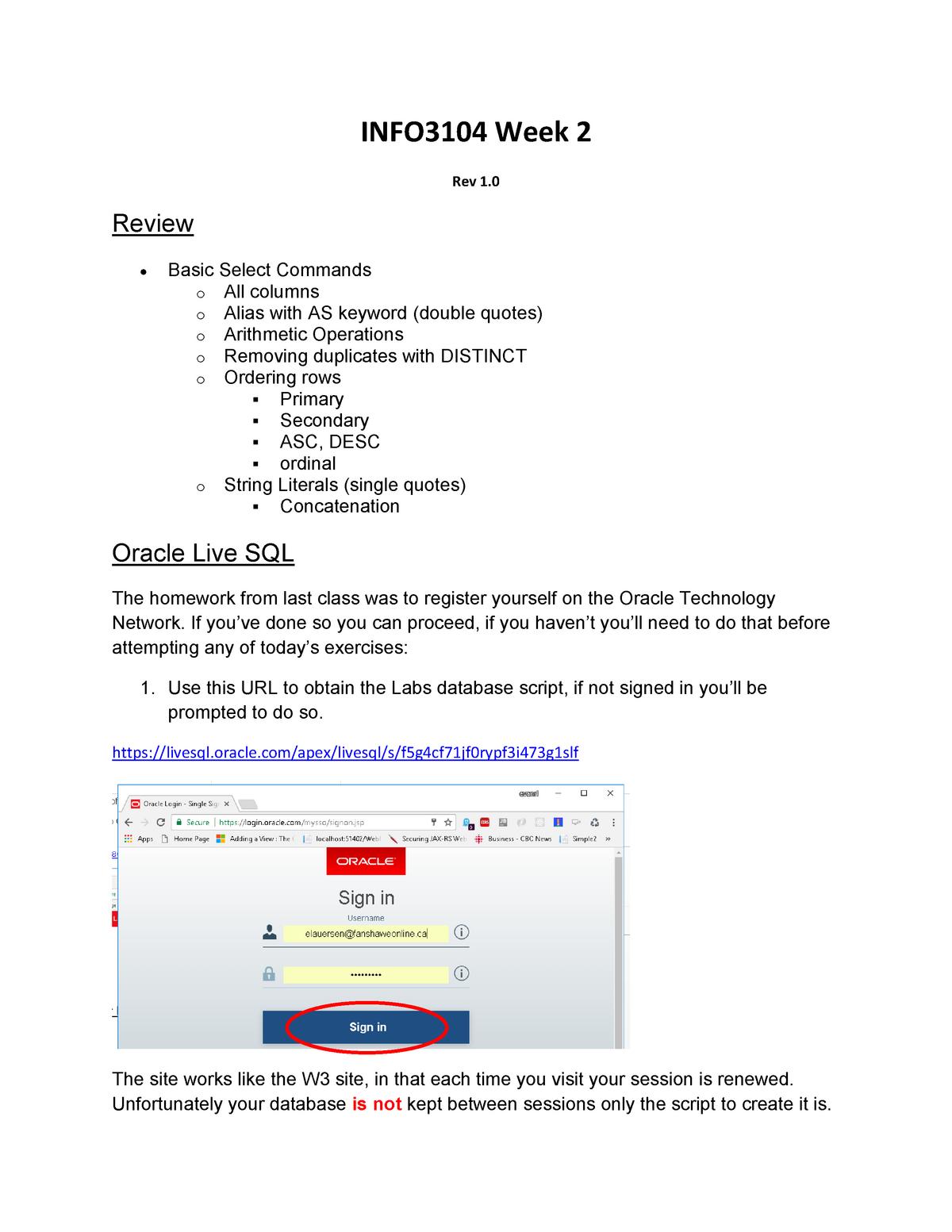 Lab 2 - Lab-2 - IWD-1 Internet Web Development - Fanshawe