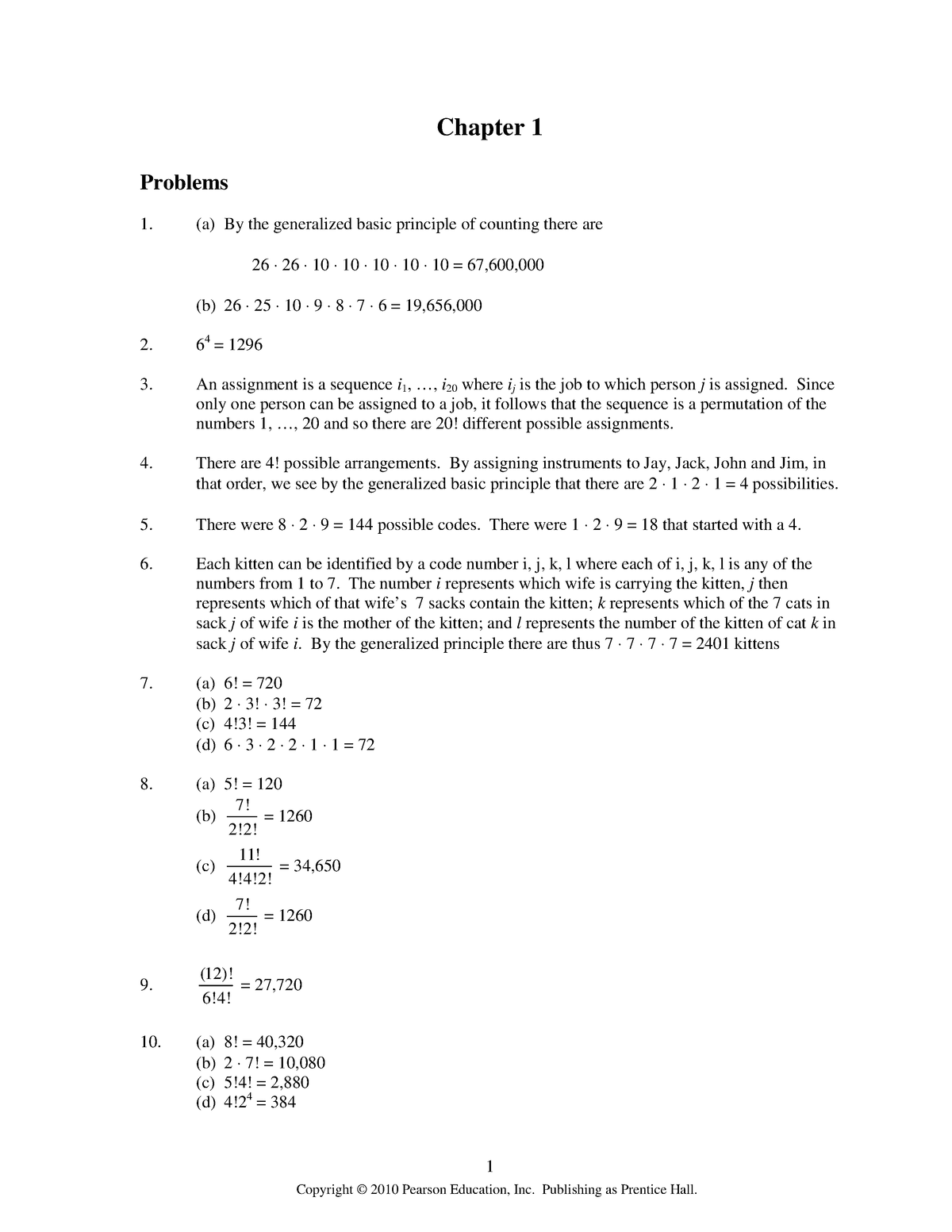 Resolução do livro Probabilidade Um Curso Moderno Com