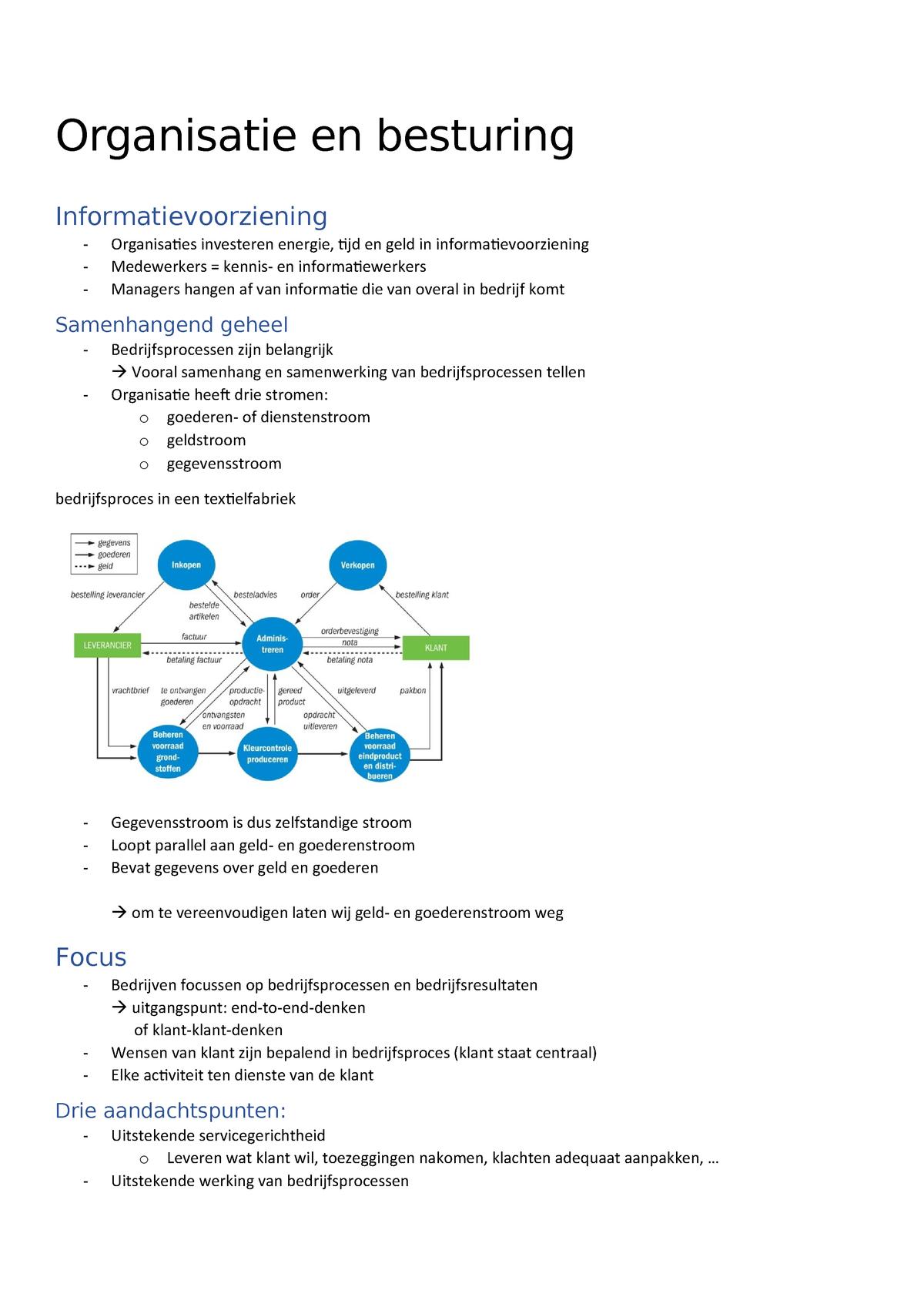 fe19c2a4c20 Les 3 samenvatting - Informatiemanagement - StuDocu
