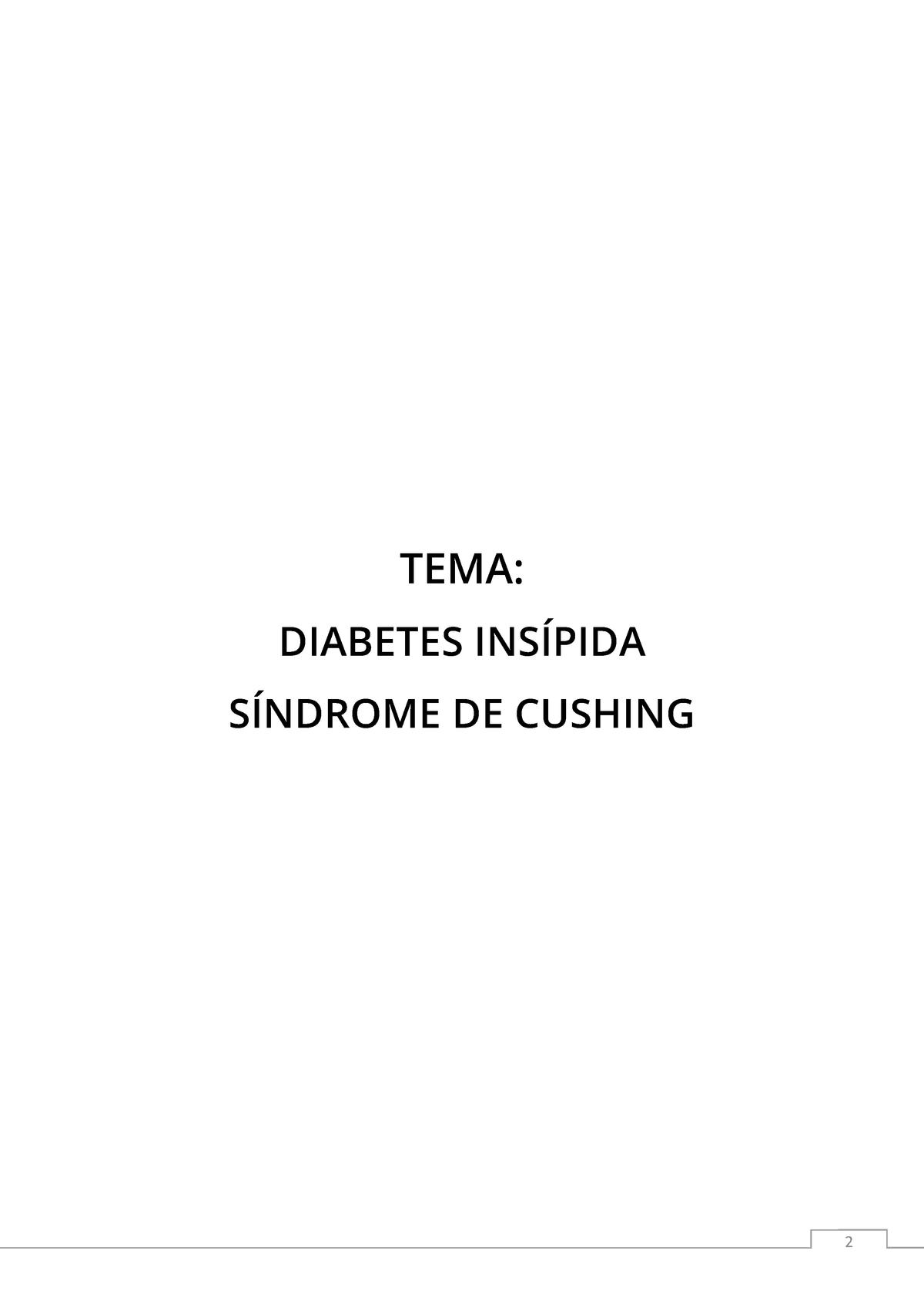 diabetes insípida y secreción adh mantiene