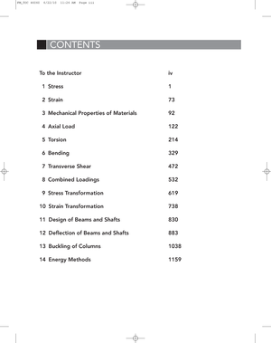 Ch14 energy methods - Solution manual Mechanics of Materials
