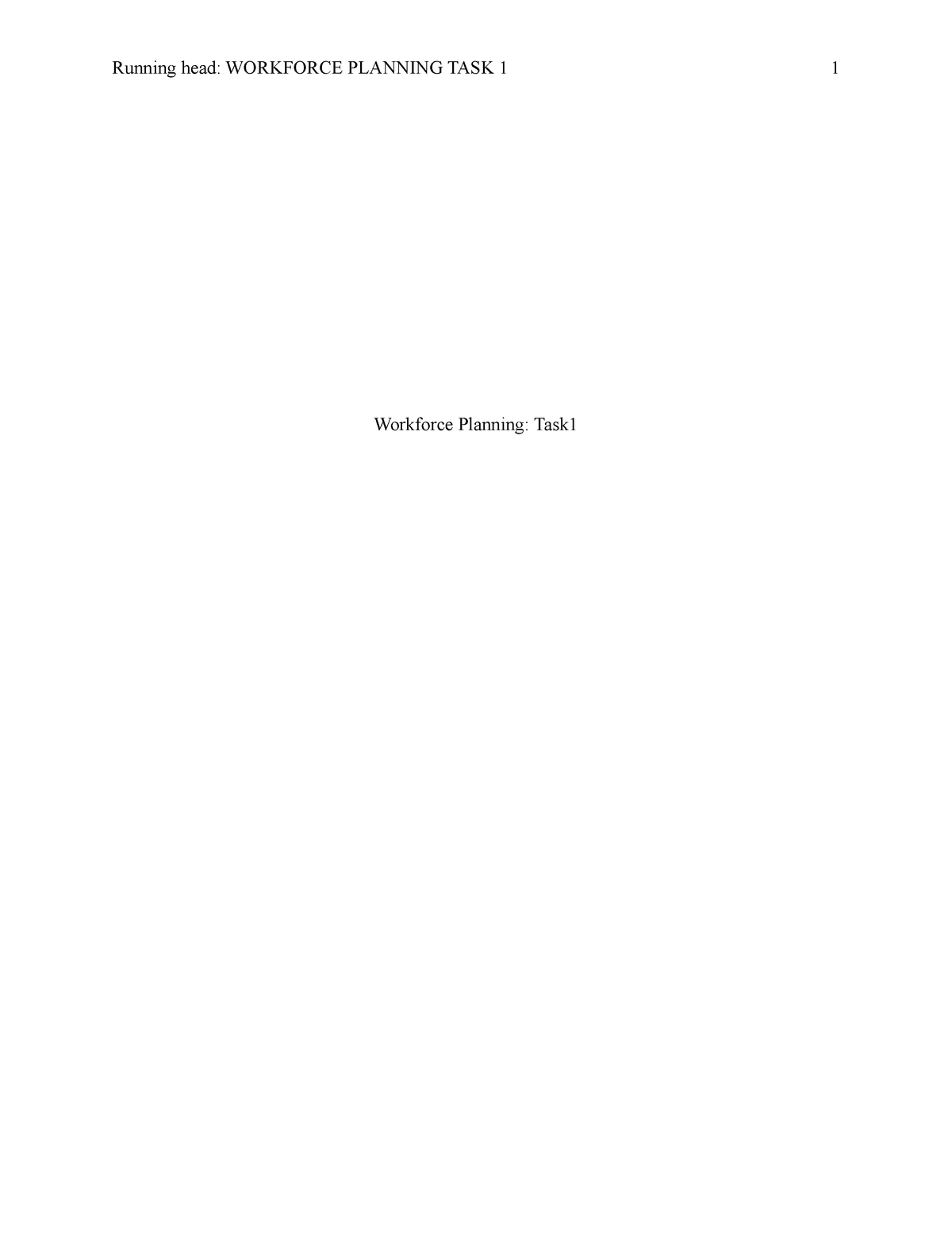 C234 Task 1 - Darian Villalobos - HRM 3500: Training and Development