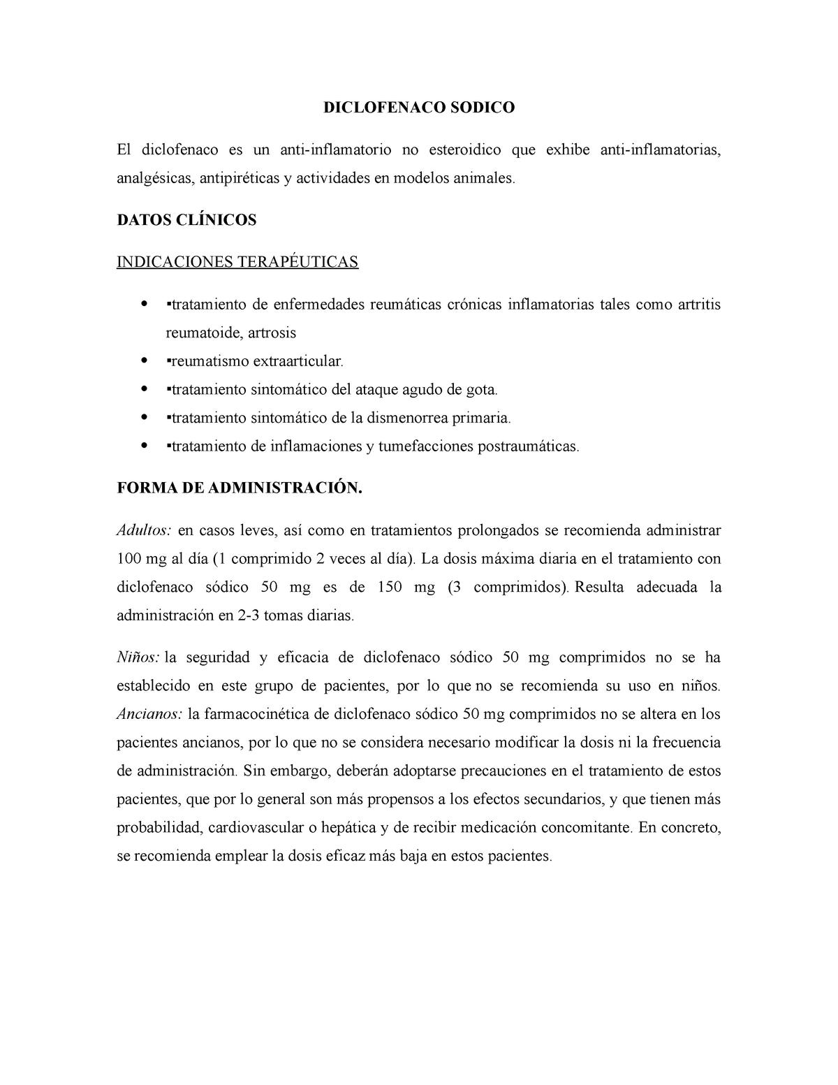 Mg diclofenaco 300