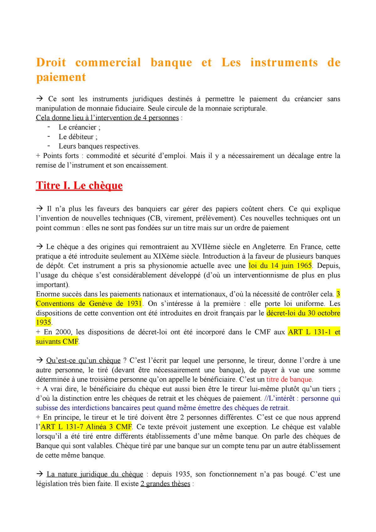 CHEQUE CASINO LE BANQIER VOIT IL