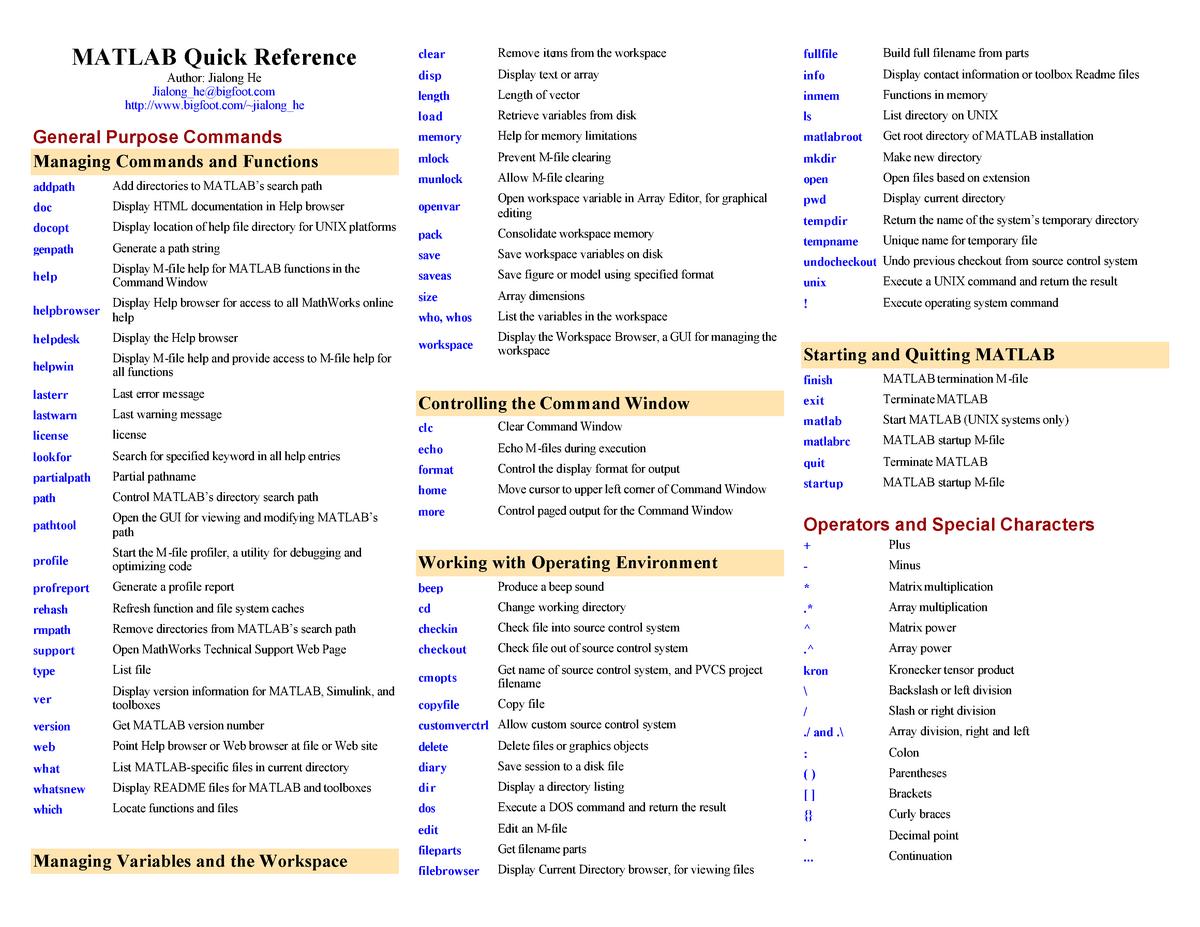 Crib sheet Machine Learning - 10 601: Machine Learning - StuDocu