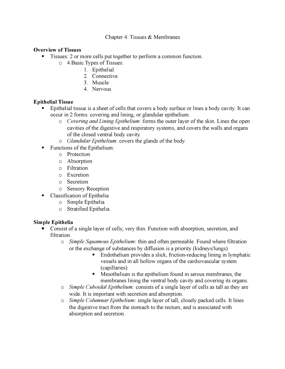 Skin And Body Membranes Chapter 4 Worksheet Answers ...