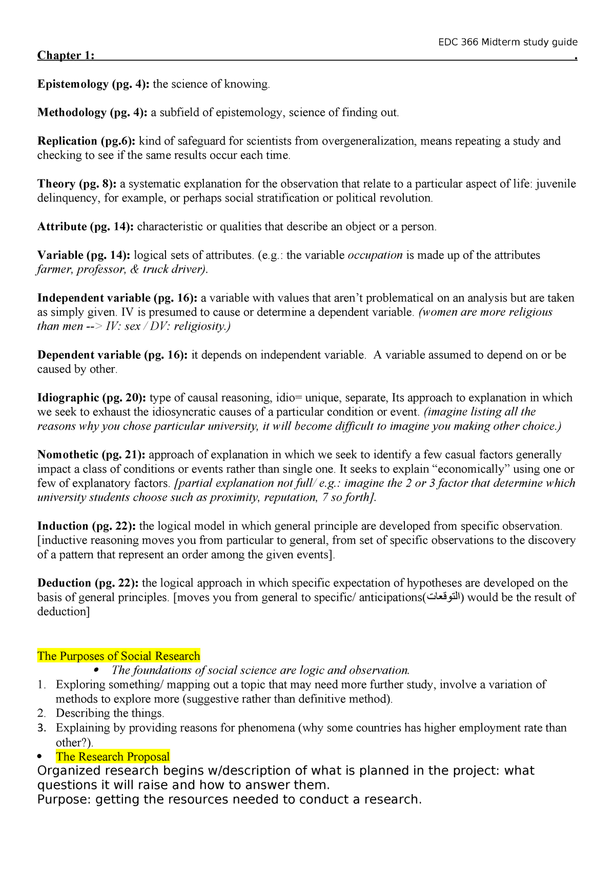 Summary The Basics of Social Research 10 Apr 2018 - StuDocu