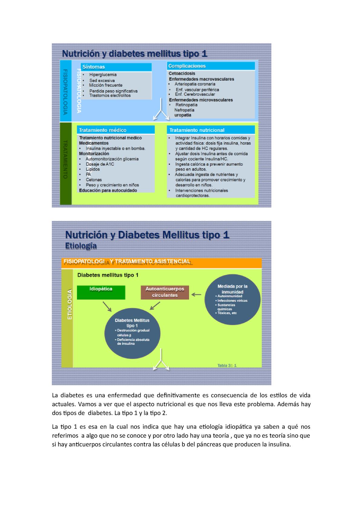 diabetes tipo 1 inmunidad a la insulina definición