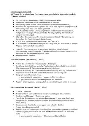 4. Vorlesung Entwicklung StuDocu