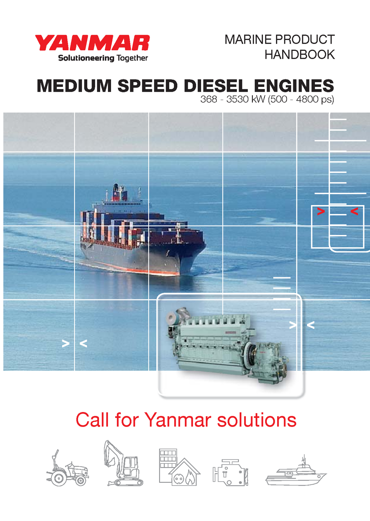 Yanmar marine medium speed catalog - Heat Transfer - UNDIP