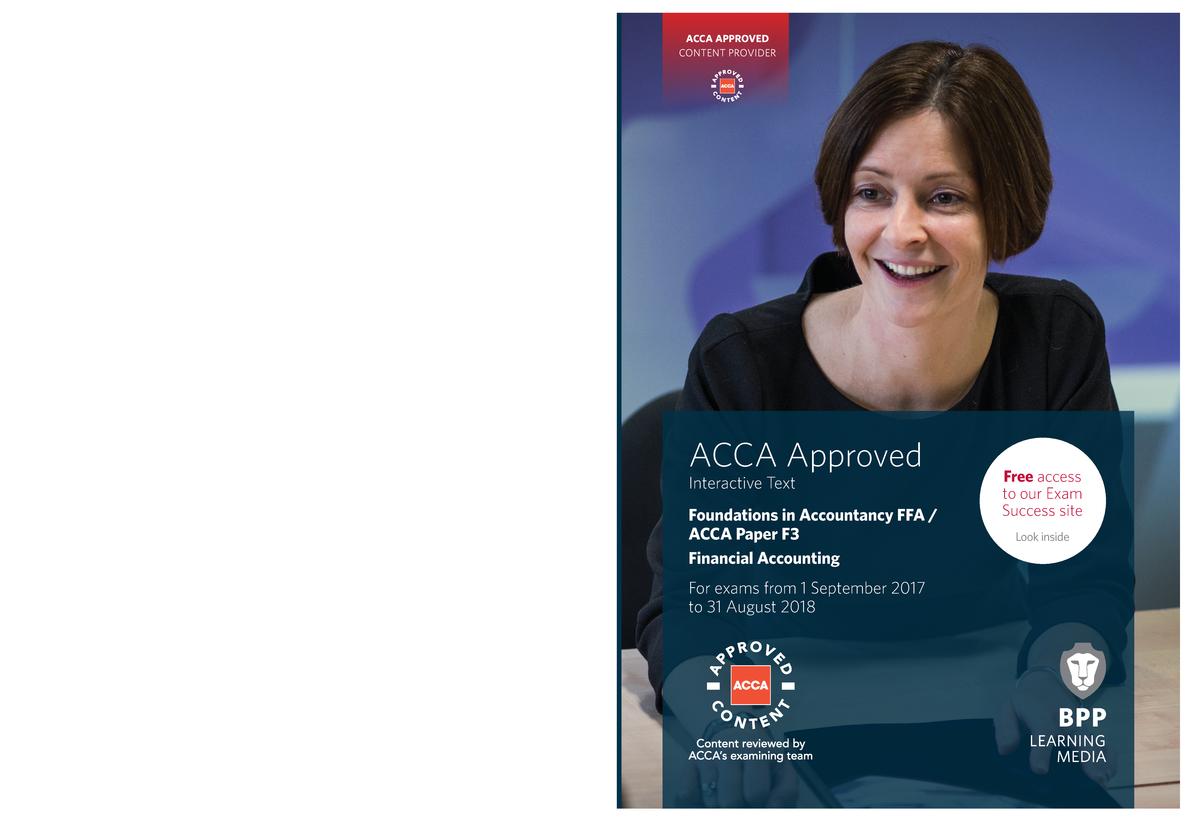 ACCA FFA (F3) Study Text 2017-2018 - 2833230: 金融市场与金融机构
