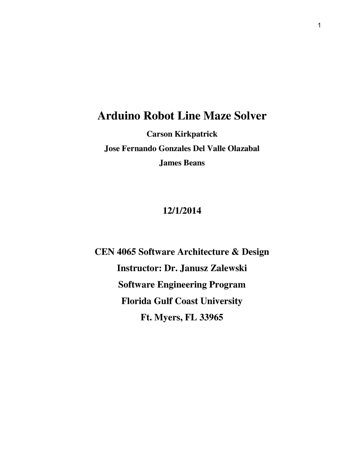 Arduino Robot Line Maze Solver Report - Taller De Tasacion - StuDocu