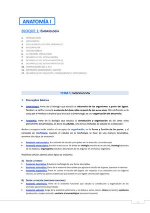 Embriologia (Modif.) - 001: Anatomía Veterinaria: Embriología - StuDocu