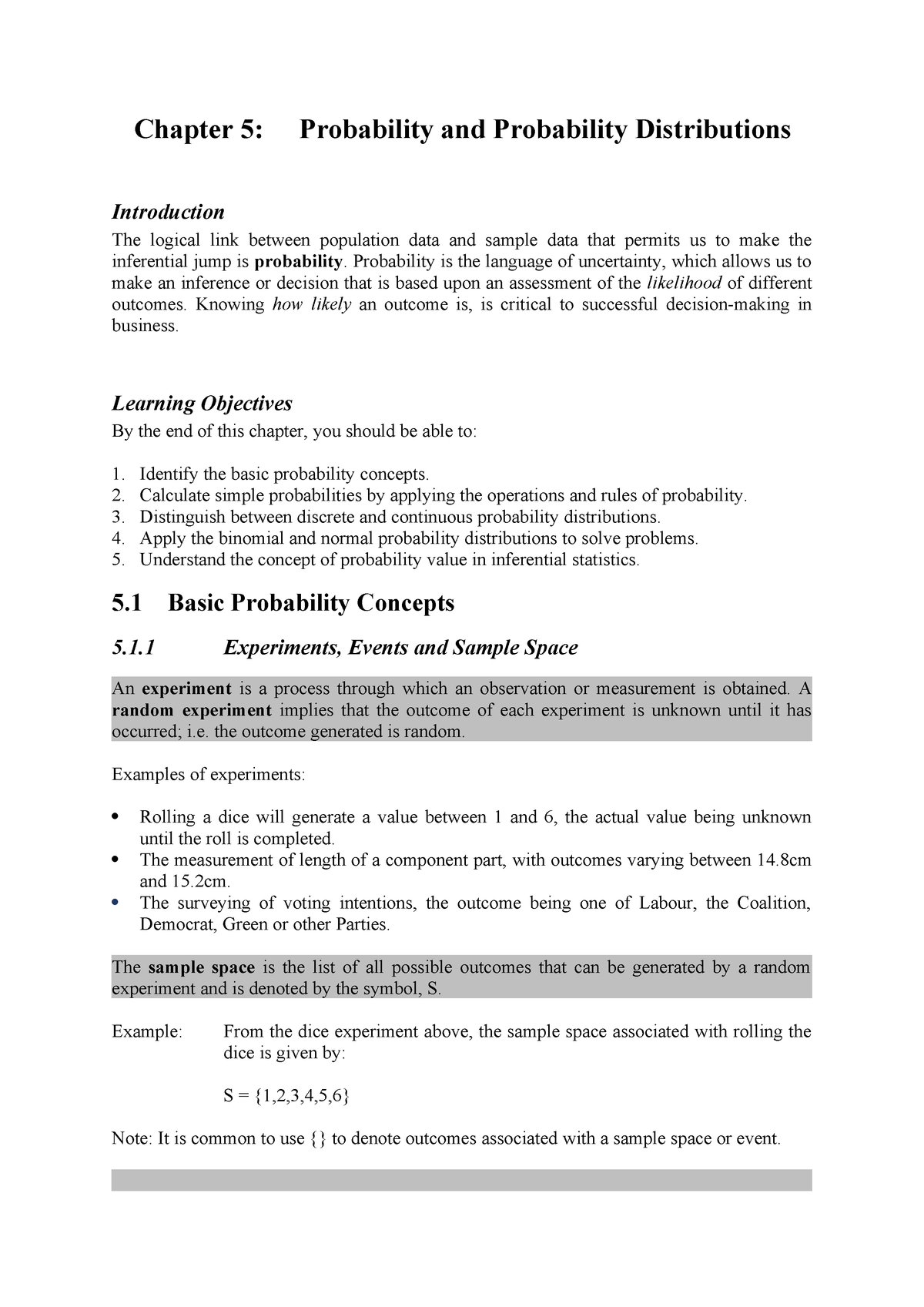 Week 4 Reading - Week 4 Summary - Data Analysis BSB123 - StuDocu