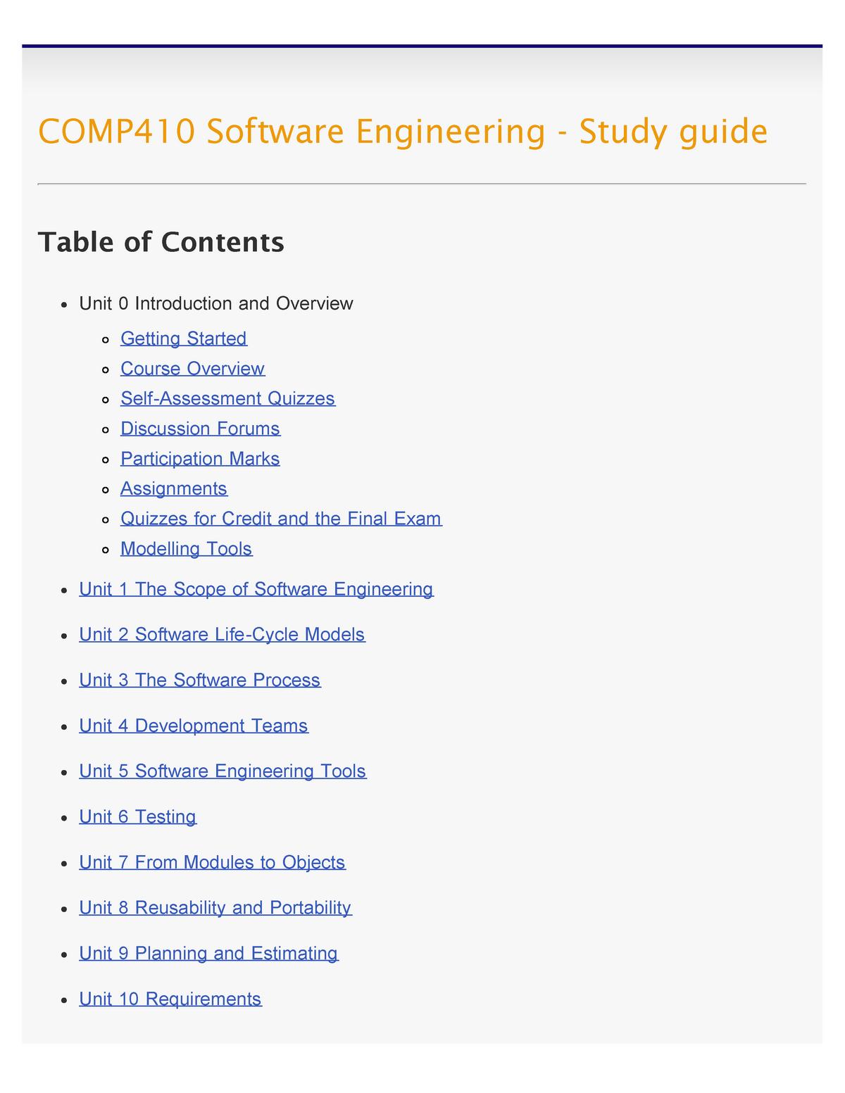 Studyguide - comp3370: Computer organization - StuDocu