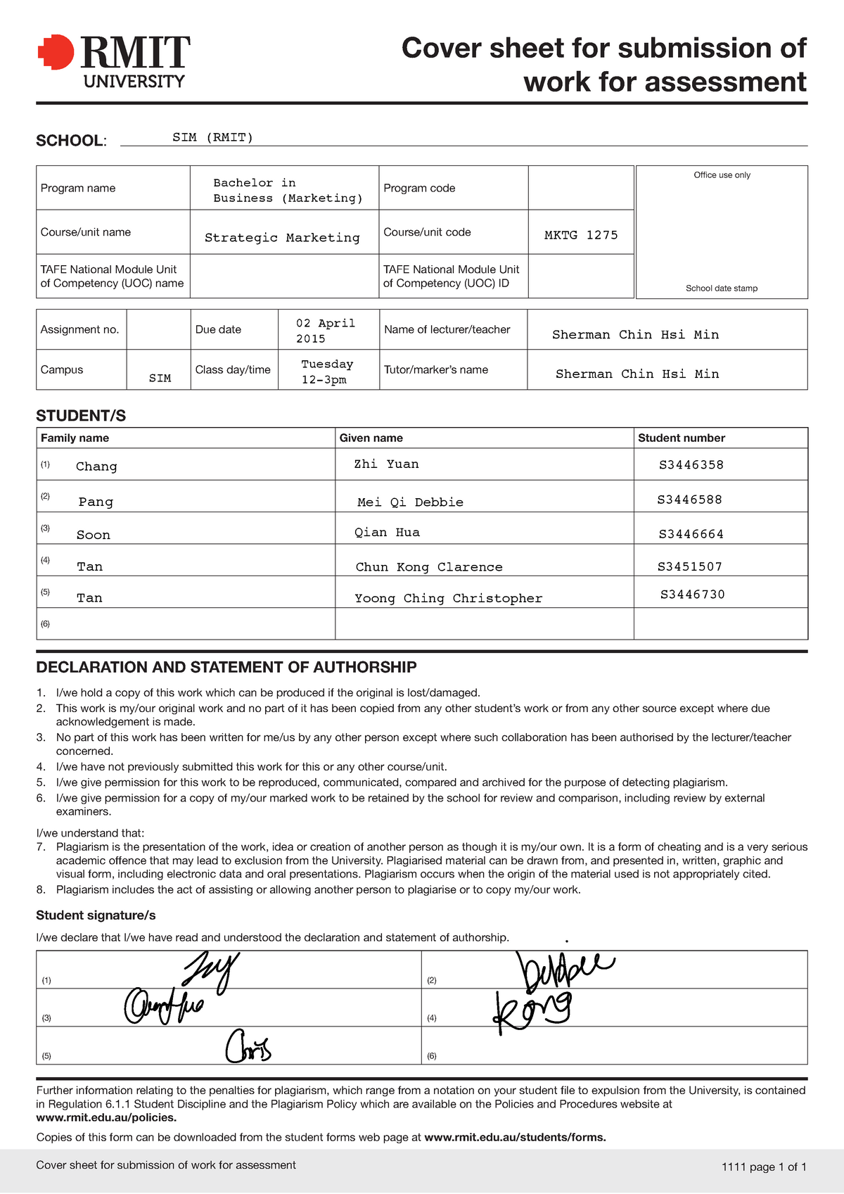 good) Tesla Motor Case Study report - BUSM3309: Strategic Management