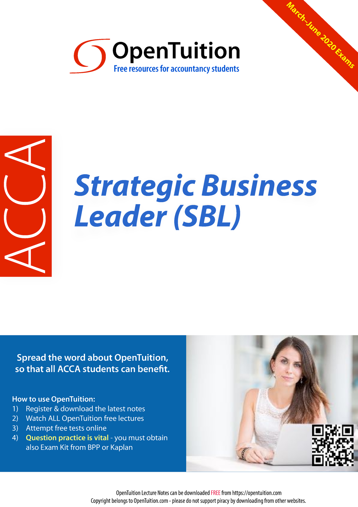 acca strategic business leader textbook bpp free download