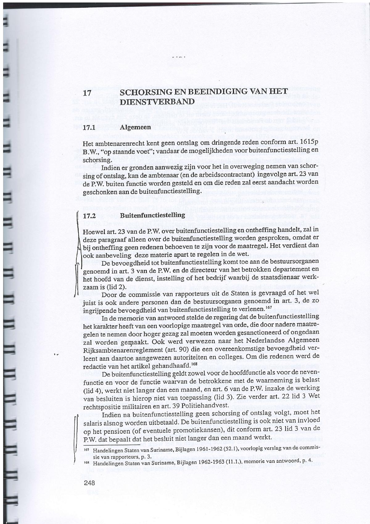 Module 6 Ambtenarenrecht Bestuursrecht Re2003 Studocu