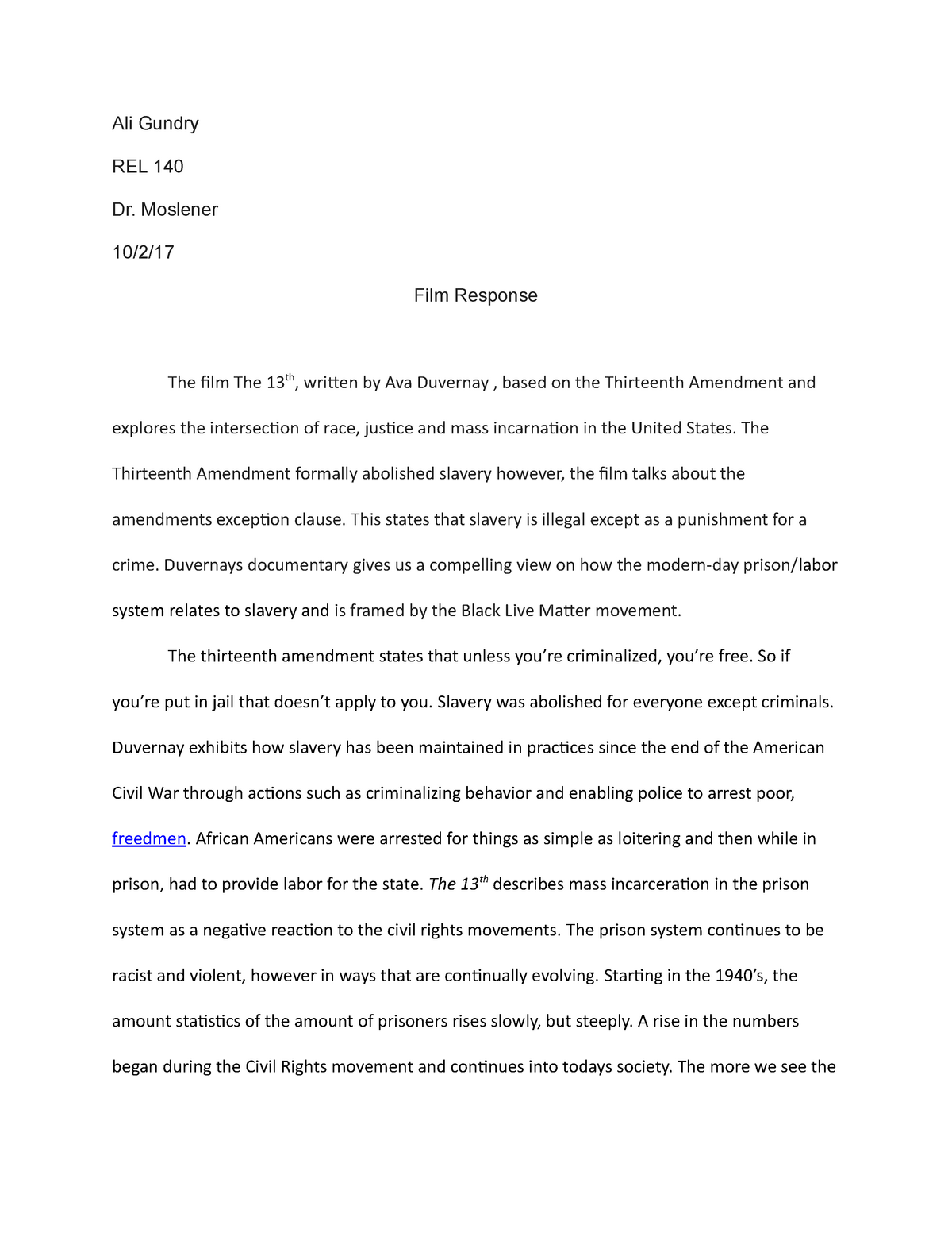 Opinion essay about poverty