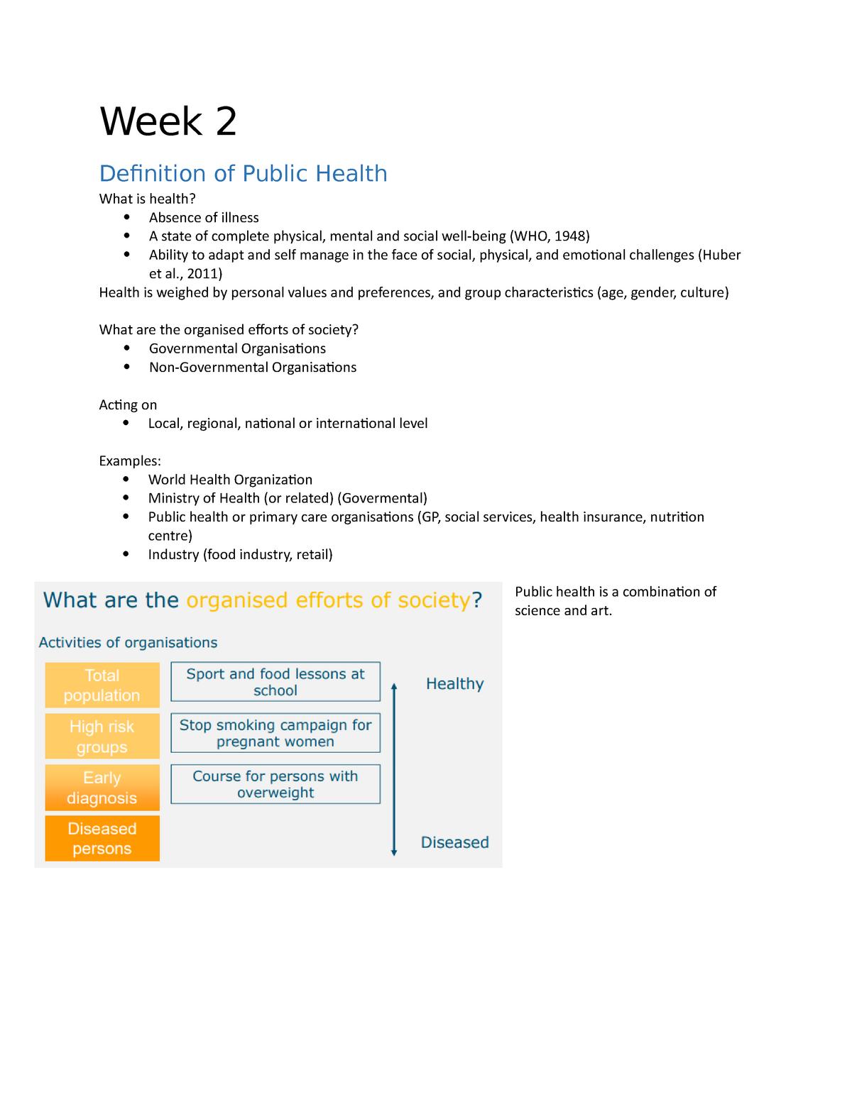 Online cursus HNE week 2 - HNE-24806 - StudeerSnel nl