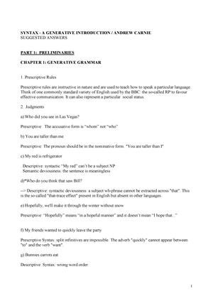 Syntax A Generative Introduction 3rd Edition Pdf