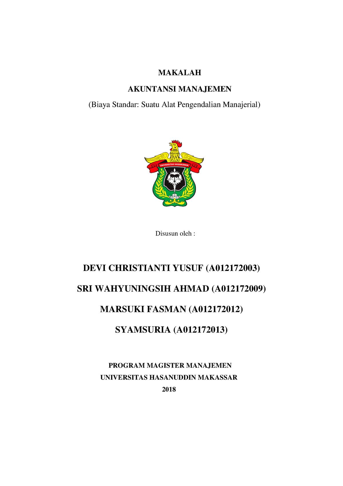 Contoh Skripsi Akuntansi Manajemen Pdf Contoh Soal Dan Materi Pelajaran 8