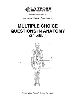 Anatomy Mcq Pdf