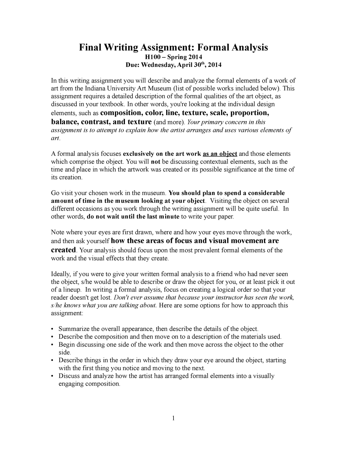 How to write an analysis of a piece of art senior j2ee developer resume