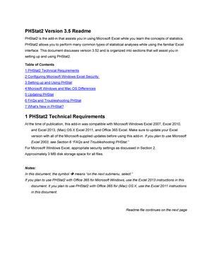 Phstat 2 3 fine fina2205: quantitative methods for finance.