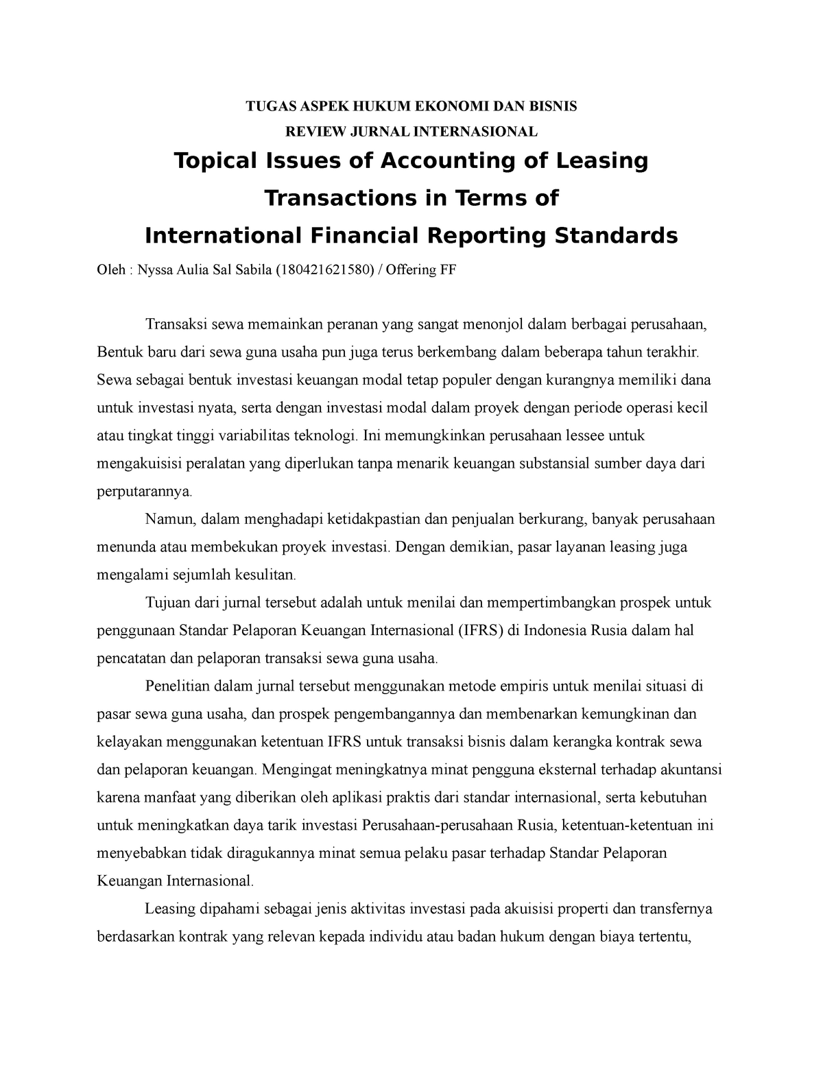 Analisis Pendidikan Umpk607 Um Studocu