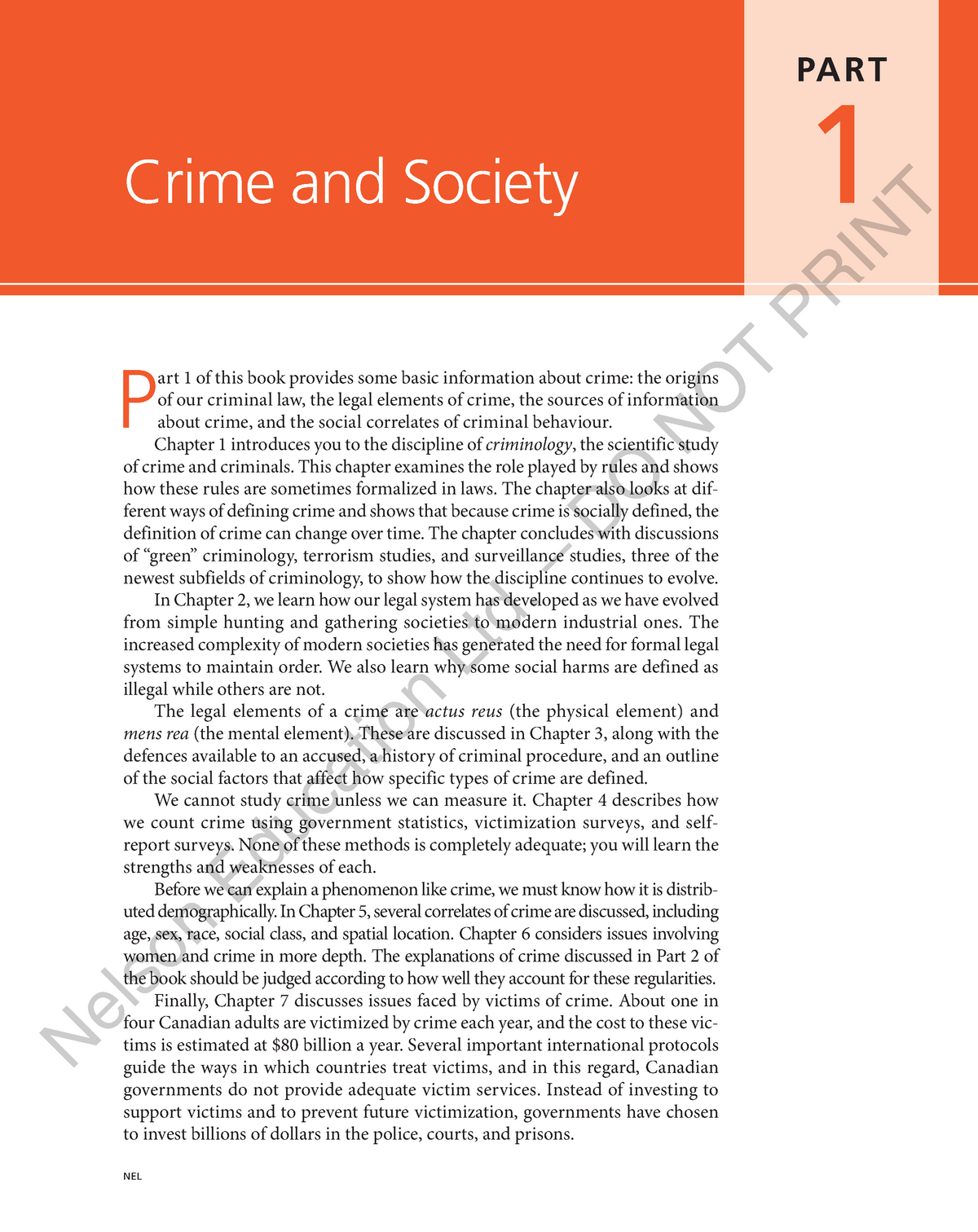 01 ch01 - Summary Criminology - CRM1300 - StuDocu