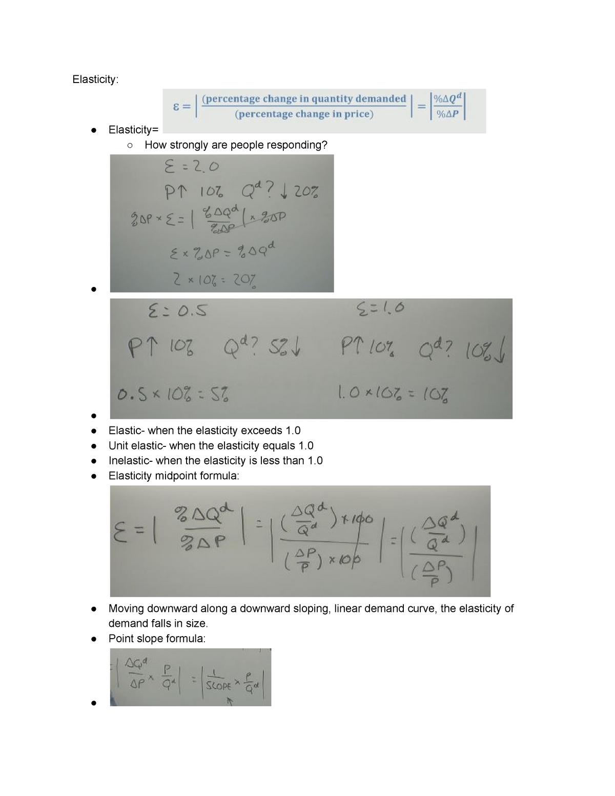 Eco 2023 Chapter 4 Lecture Notes 7 Prin Microeconomics Studocu
