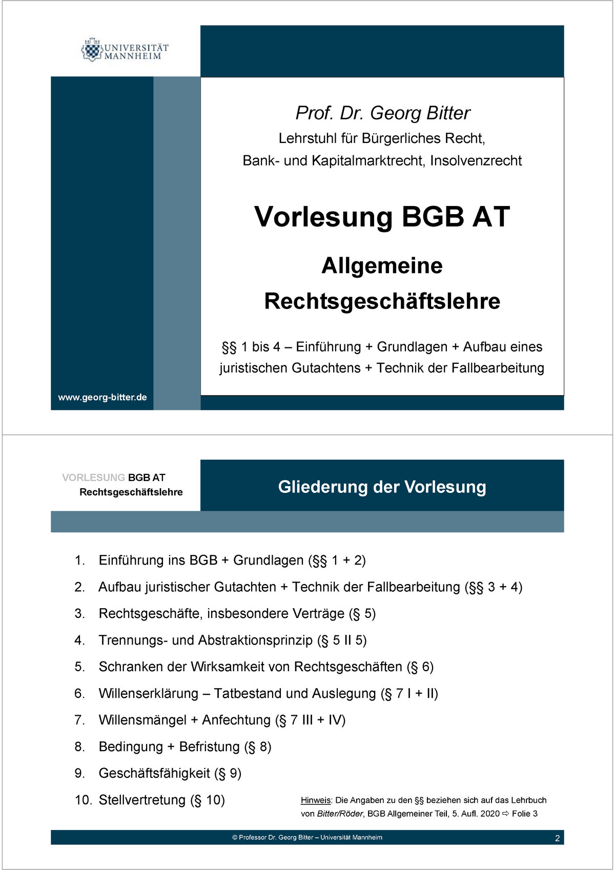 Bgb at folien 20 paragraph 20 20   Allgemeine Rechtsgeschäftslehre ...