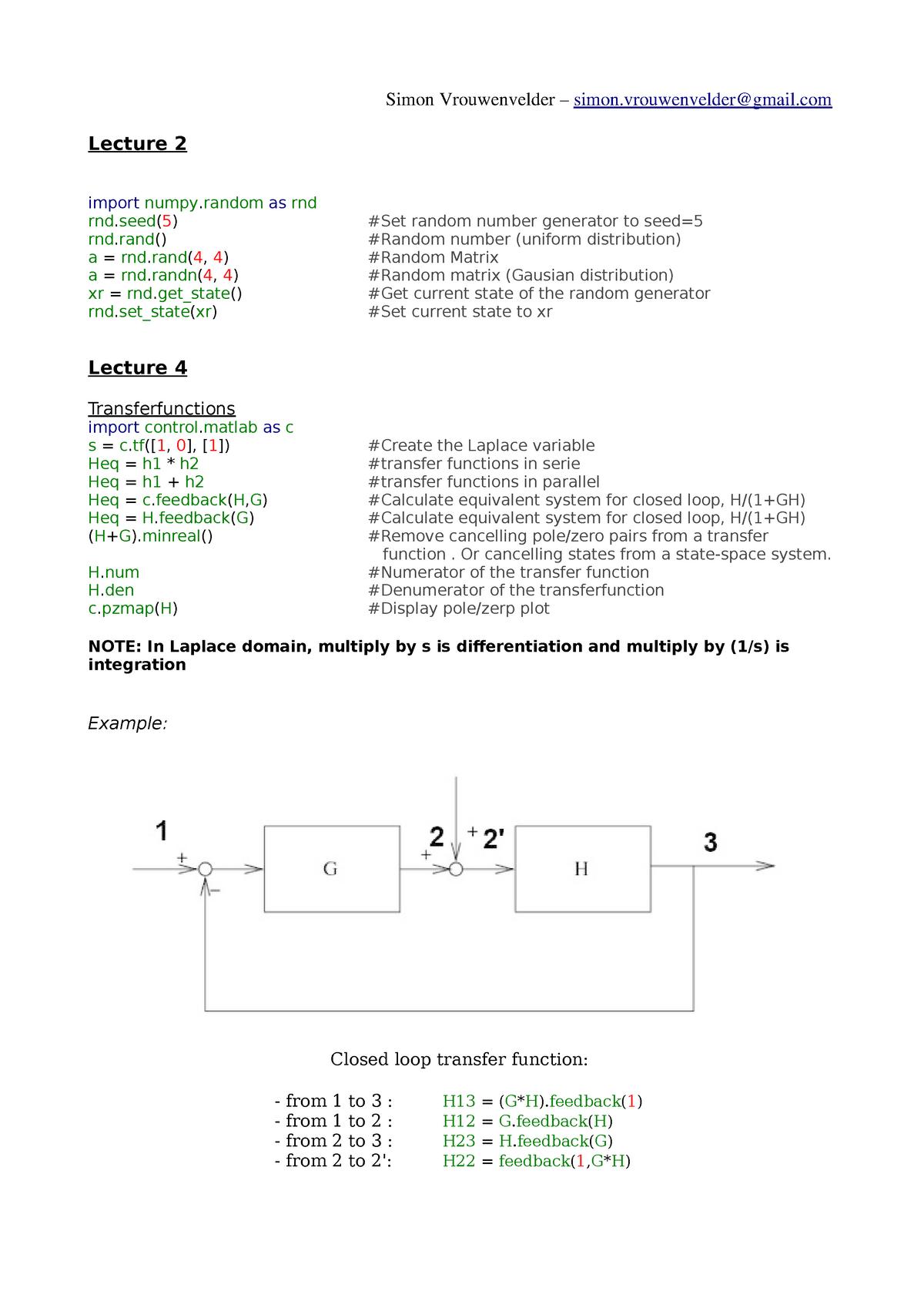 Python Closed Loop Control